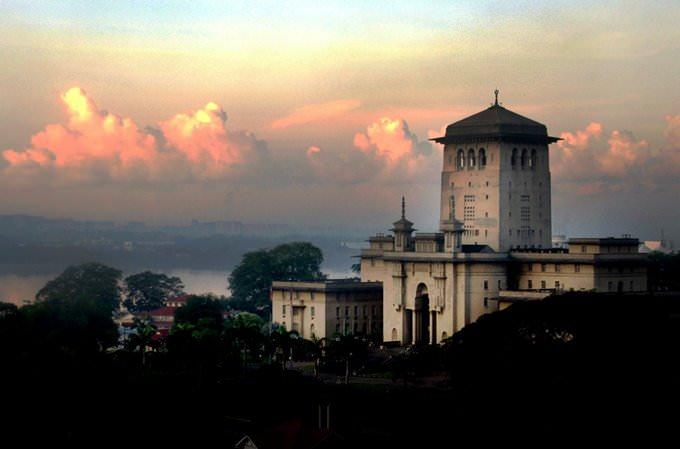 Sultan Ibrahim Building. Johor.Malaysia.