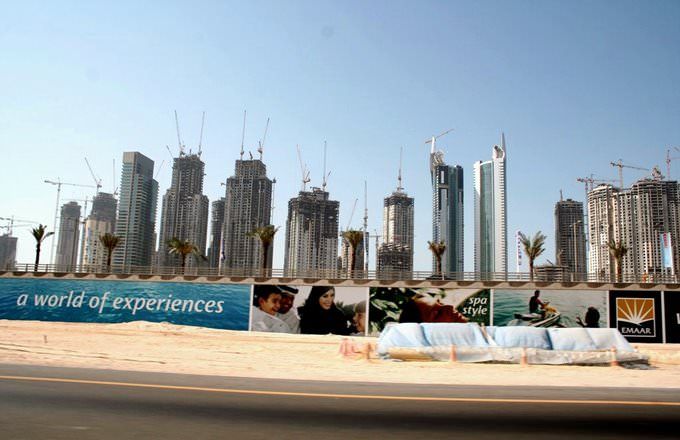 Jumeirah under construction