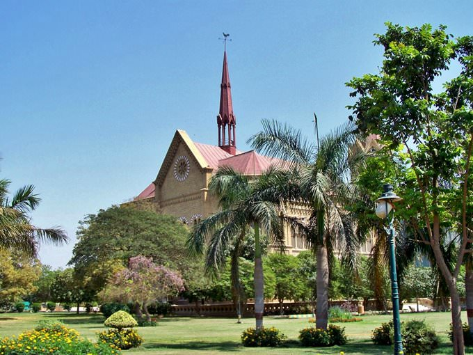 Frere Hall, Karachi, Pakistan - March 2008