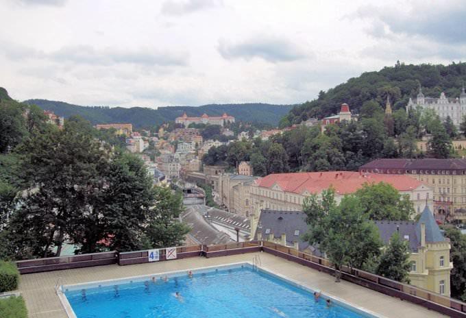Karlovy Vary, (Carlsbad), Czech Republic.