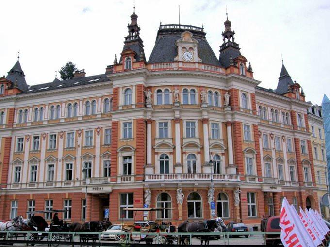Karlovy Vary (Carlsbad) Main Post Office