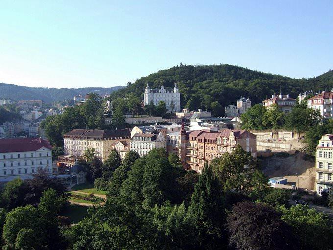 Hotel View of Karlovy Vary
