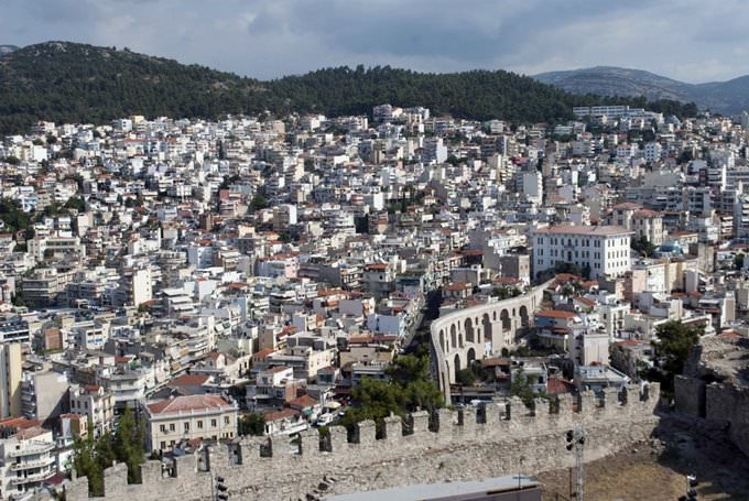 Kavala view from castle