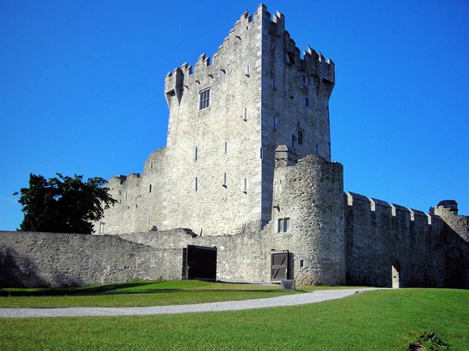 Ross Castle, Killarney National Park, Kerry
