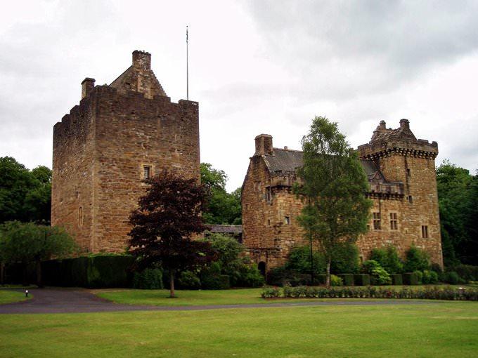 Keep & Palace, Dean Castle, Kilmarnock, Scotland