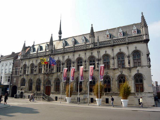 City hall in Kortrijk
