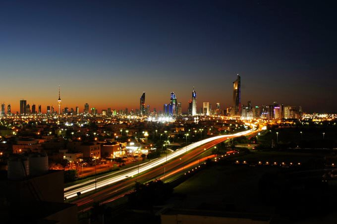 Kuwait City at Night