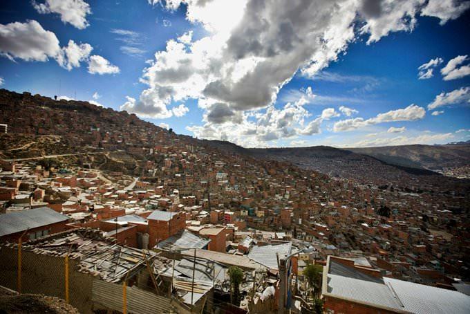 Город был основан в из-за высокогорного расположения климат в ла-пасе прохладный