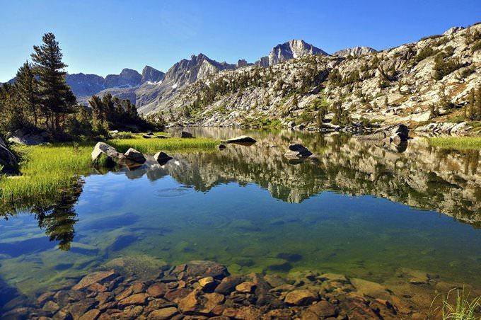 Unnamed Lake, Dusy Basin, Kings Canyon National Park