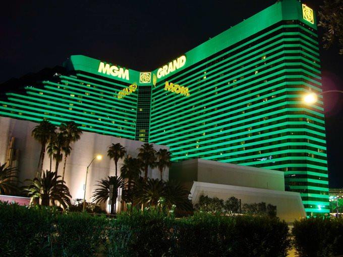 MGM Grand @ Night