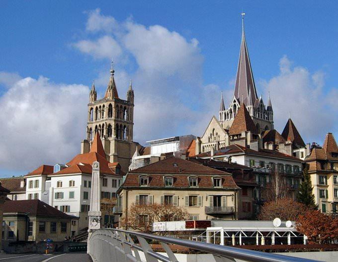 Lausanne view