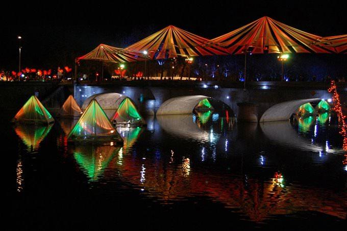 Pont Aristide Briand Orange