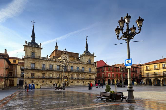 Mayor Square. León