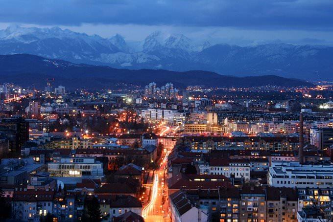 Ljubljana zvečer