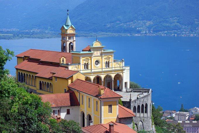 Madonna del Sasso, Locarno, Ticino