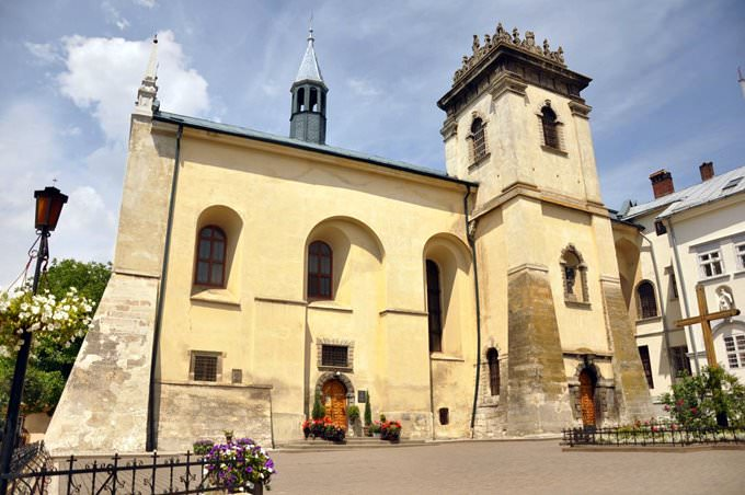 The Church and Convent of the Benedictines