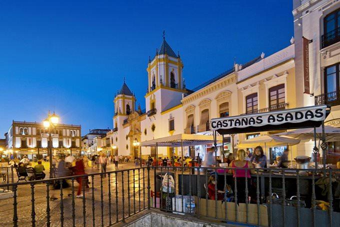 Socorro Square. Ronda. Malaga. Andalucia