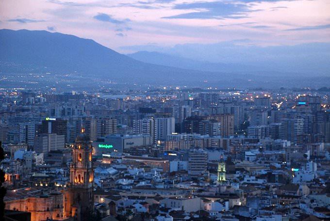 Malaga desde Gibralfaro