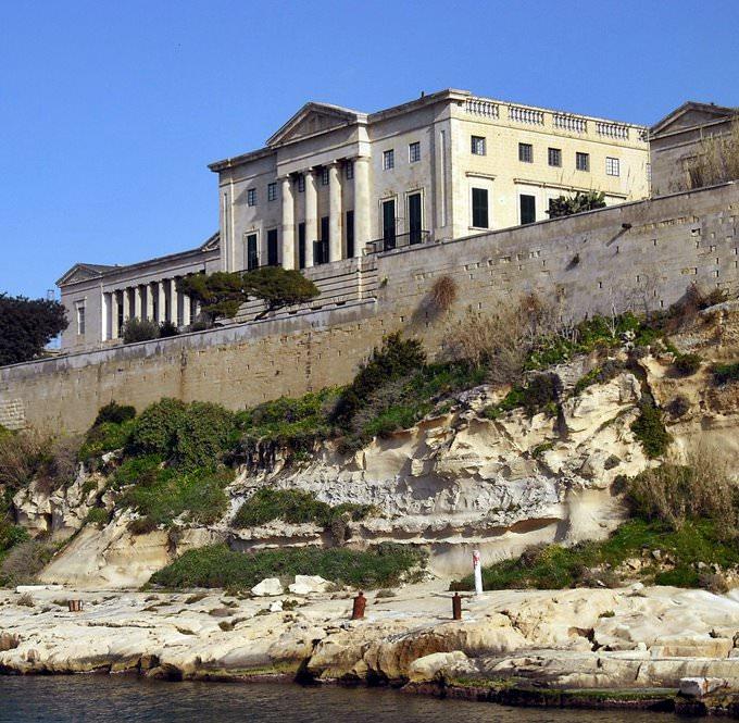Fort, The Grand Harbour, Valletta-Three Cities, Malta