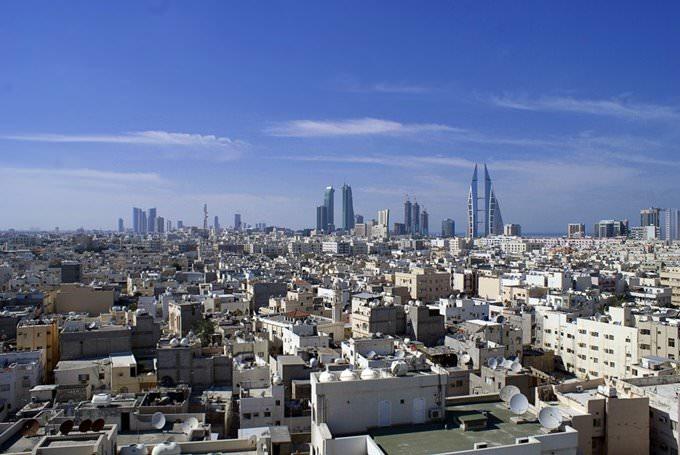 Manama- Arial view