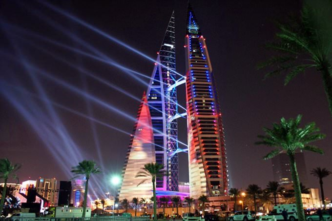WTC- Bahrain Lights