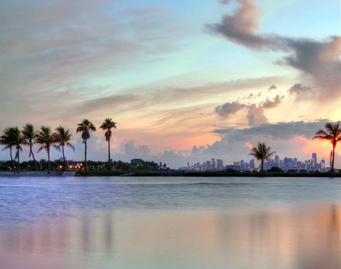 Matheson Hammock & Miami Skyline