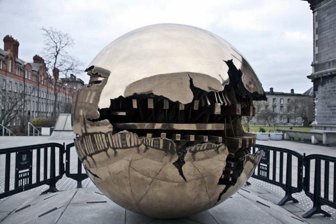Pomodoros Sphere Within Sphere (Sfera con Sfera)