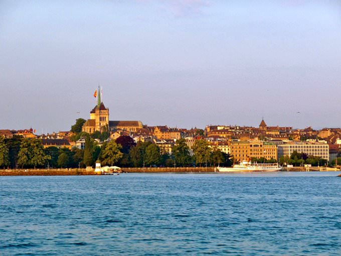 Geneva - Montreux by boat