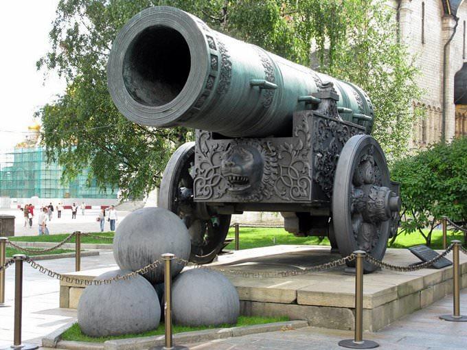 Moscow - Tsar Cannon