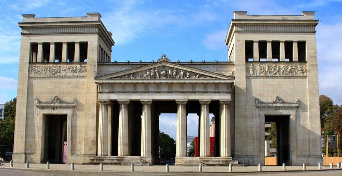 The Propylaen at Konigsplatz in Munich