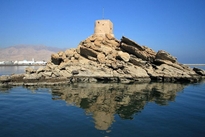 Al Sahel Fort, Quriyat, Muscat, Oman