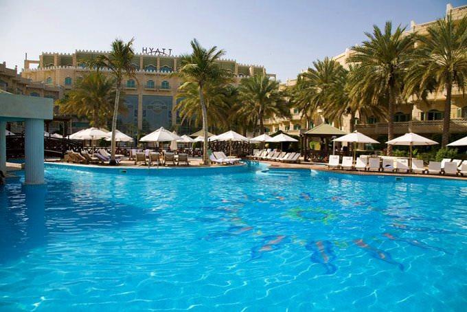 Muscat - Hyatt hotel