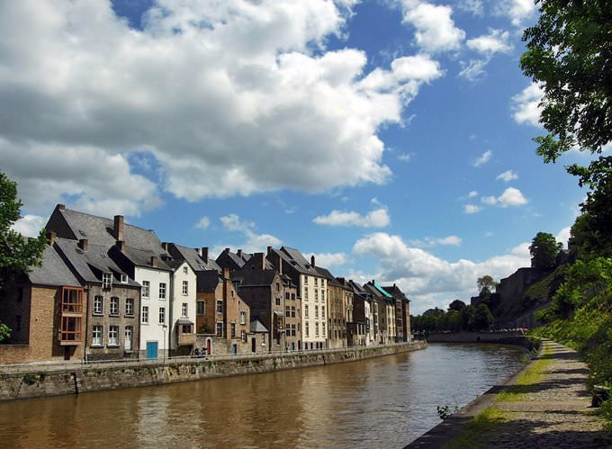 Bord de Sambre à Namur