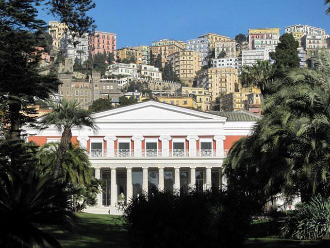 Napoli - Villa Pignatelli
