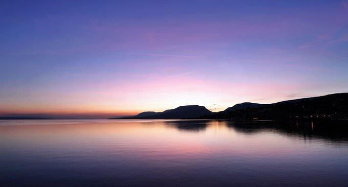 Neuchâtel at Sunset