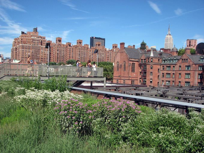High Line Park - New York City