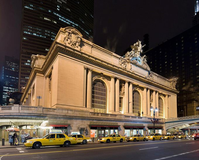 Grand Central Station at night - New York City
