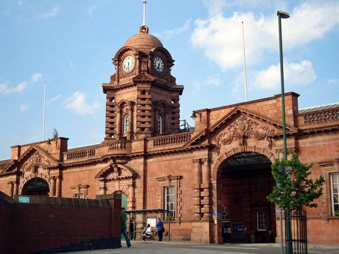 Nottingham ... formerly the Midland Station.