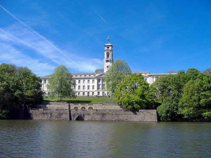 Nottingham - Lake - Trent Building