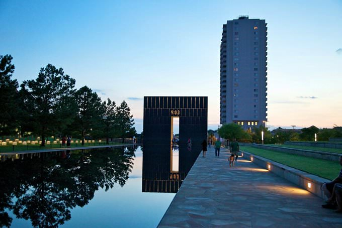 Oklahoma City Reflecting Pool