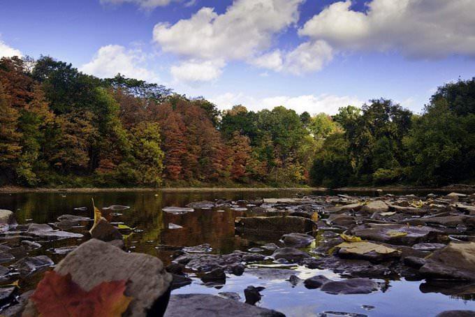 Sixteen Mile Creek, Oakville, Canada