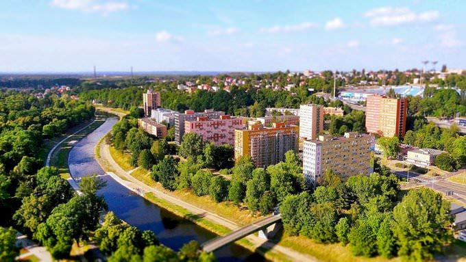 Ostrava tiltshift 1