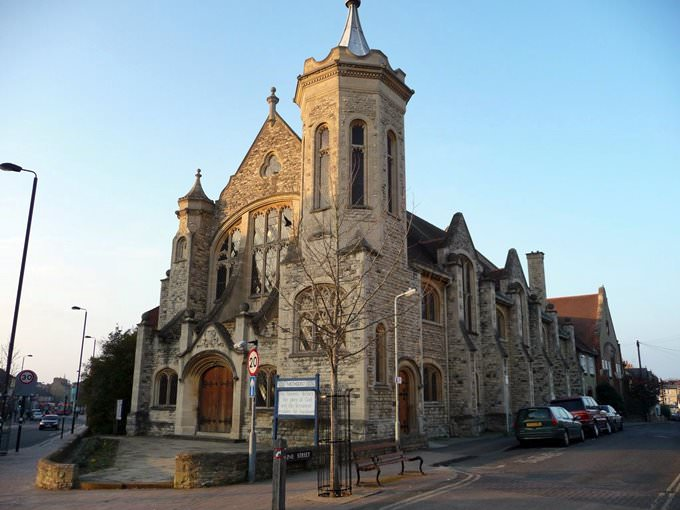 methodist church, cowley road