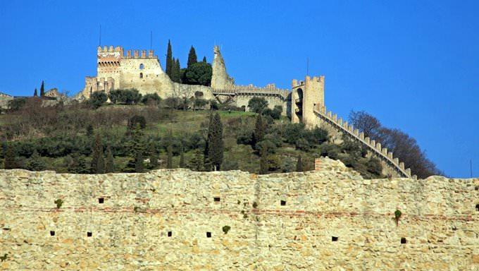 Castle overlooking Marostica