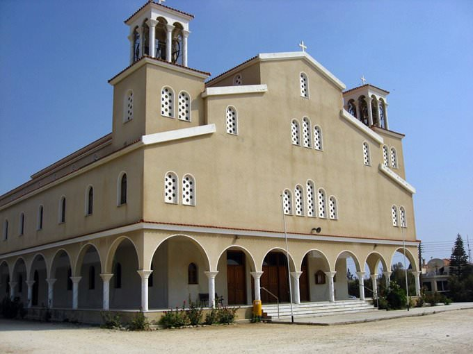 Church near Paphos (Pafos), Cyprus