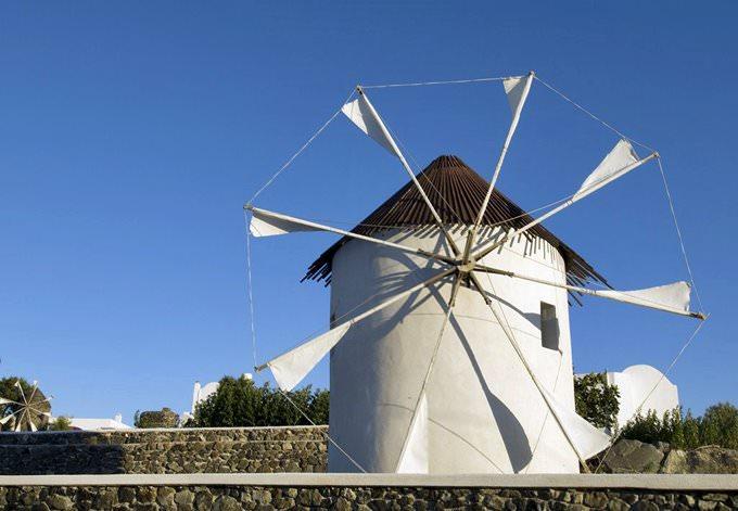 Paros windmill