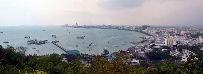 Pattaya from Pratumnak Hill