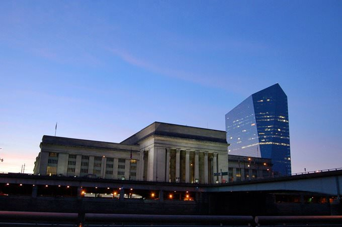 Street Station and Cira Centre