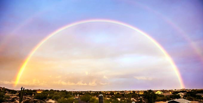 Rainbow over Phoenix