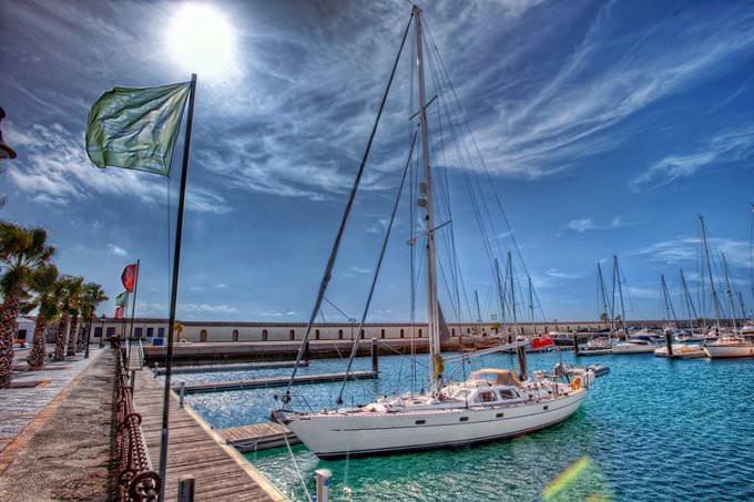Sailboat – Velero, Lanzarote HDR 2